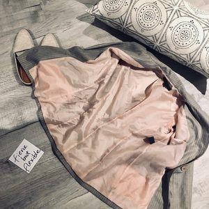 Anne Klein Jackets & Coats - ANNE KLEIN grey pinstripe blazer size 4